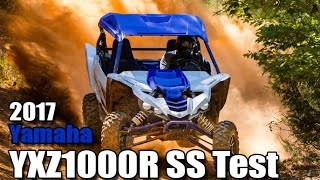 2017 Yamaha YXZ1000R SS Test Review