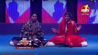 Arif Lohar and Nooran Sisters, on Stage of aWaaz PunjAb Di 2017
