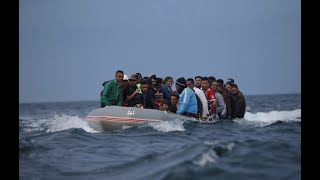African migrants now departing from Morocco to Europe