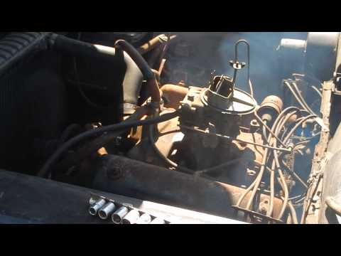 First Start in 15 Years 1958 Ford Fairlane