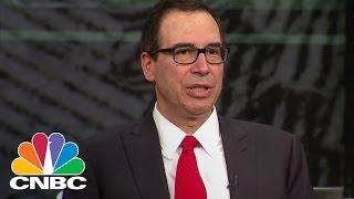 Treasury Secretary Steven Mnunchin: This Will Be Biggest Tax Cut In US History | Squawk Box | CNBC