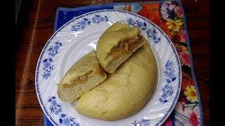 How to make chicken bun in pressur cooker|| প্রেশারকুকারে চিকেন বান #77 Konok kutir cooking recipe