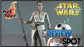 Collectible Spot - Hot Toys Star Wars The Force Awakens Rey and BB-8 Sixth Scale Figure Set