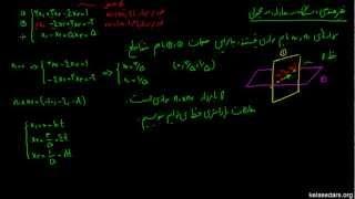 دستگاه معادلات خطی ۰۷ - حل هندسی دستگاه معادلات