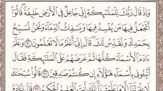 حوار الله سبحانه و تعالى مع الملائكة في سورة البقرة (1) الآيات من 30 -33 بصوت رائد كمال سميسم