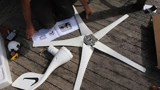 400 watt wind turbine from aliexpress - installation, output test and review