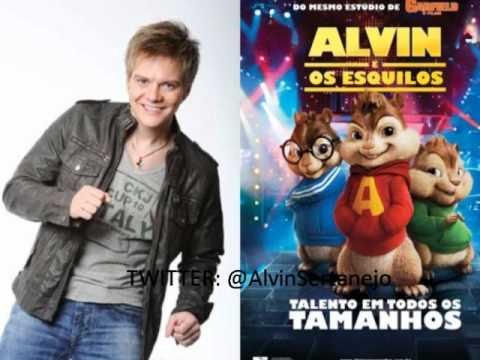 Fugidinha Alvin e Os Esquilos Michel Teló