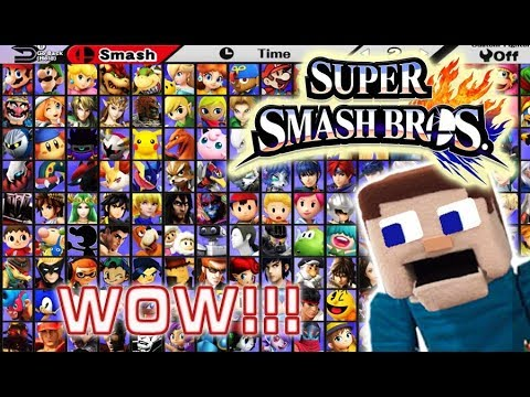 Super Smash Bros Ultimate Nintendo Switch E3 Full Reveal Complete Roster New Fighters Amiibo 2018