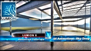02 Lumion 4d Animation Tutorial Part 2: Sky Drop