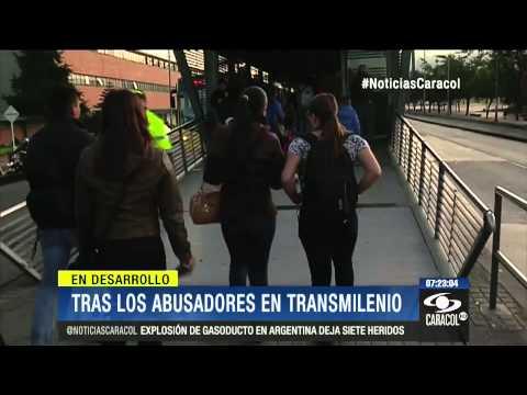 En carne propia así trabajan las cazadoras de abusadores en Transmilenio 1 de Agosto de 2014
