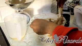 How My Grandmother Make Her Jamaican Rum Fruit Cake Before Christmas | Recipes By Chef Ricardo