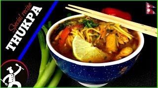 Chicken Thukpa Recipe | How to make Thukpa | Nepali Food Recipe Channel 🍴 60