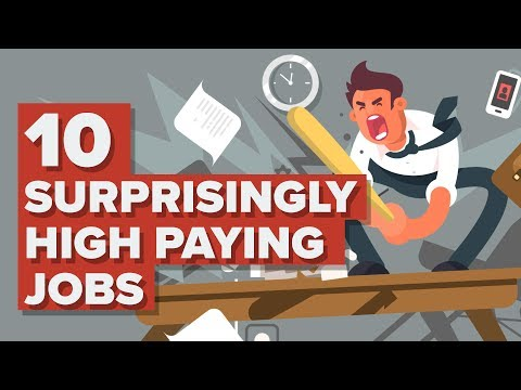 10 Surprisingly High Paying Jobs