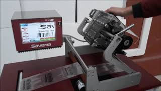 SAVEMA 107C Prototype TTO on Autobag Machine Entegration