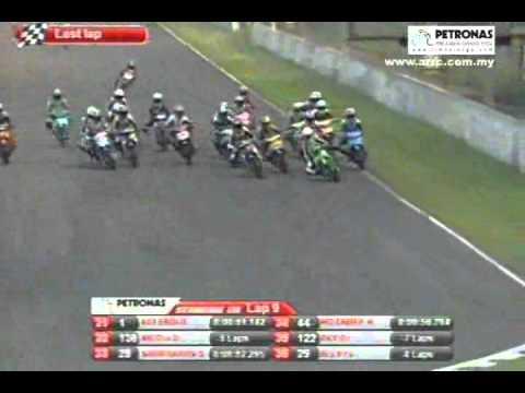 Round 3 Underbone 115cc Race 2 2010 PETRONAS Asia Road Racing Championship