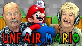 UNFAIR MARIO (Elders React: Gaming)