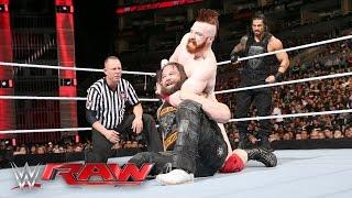 Roman Reigns & Bray Wyatt vs. Sheamus & Alberto Del Rio: Raw, 11. April 2016