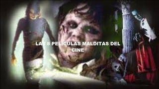 Las 8 Peliculas MALDITAS del cine / Historias de TERROR detras de las peliculas