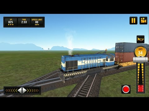 Goods Train Driving Game | Indian Train Simulator : Train Games #7 Android GamePlay & Game Video HD