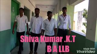 Kannada short film LLB exam time .Direction .Shivu A D Doddathimmaiah