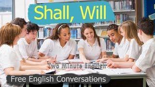 Shall vs Will - Regular English Lessons