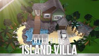 Bloxburg: Hillside Island Villa 143K