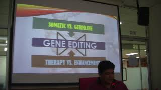 Gene Editing: Defining boundaries & limitation of the unknown – Prof. Marlon Lofredo, AUSN