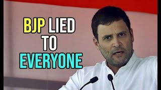 Hope This Teaches RSS-BJP a Lesson, Rahul Gandhi After Yeddyurappa