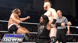 Roman Reigns vs. The League of Nations: SmackDown, 21. Januar 2016