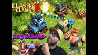 Clash of Clans // Clan Games & Magic Items // Explained 2017 Winter Update