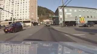 Driving around in Ketchikan, Alaska