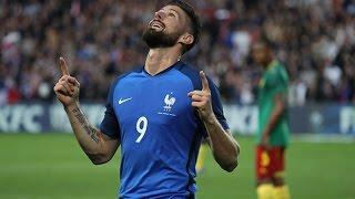France - Cameroun, le but d