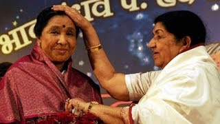 Lata Mangeshkar Ends Rivalry With Asha Bhosle !