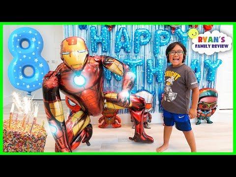 Ryan s 8th Happy Birthday Celebration Special