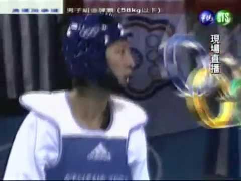 台灣戰神 朱木炎2 2完 金牌戰 中華民國史上奧運第2面金牌 2004年雅典奧運 跆拳道
