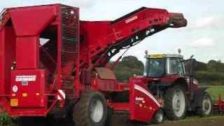 Grimme Rootster 604. One of only 2 like this in the world.