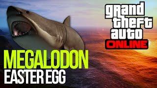GTA 5: MEGALODON EASTER EGG - GIANT SHARK! GTA V EASTER EGG