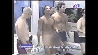 Gran Hermano 2 Argentina. Gustavo Conti se desnuda en Videomatch.