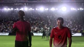 أجمل إعلان رياضي يضم نخبة من ألمع نجوم كرة القدم