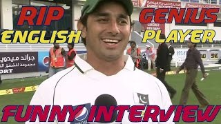 Top 10 Funny English Interview of Cricket Players ●► Cricket Genius