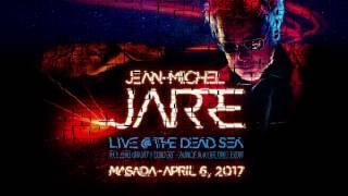 Jean-Michel Jarre live at the Dead Sea Israel