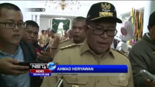 Luar Biasa! Gubernur dan Ratusan PNS PEMPROV Jawa Barat bebas Narkoba - NET24
