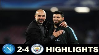 Manchester City vs Napoli 4-2  Extended Highlights - Champions League 01/11/2017