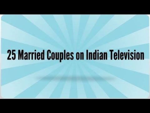 Top 25 Married Couples on Indian Television