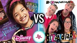 Andi Mack VS Bizaardvark Musical.ly Battle | New Disney Channel Stars Musically