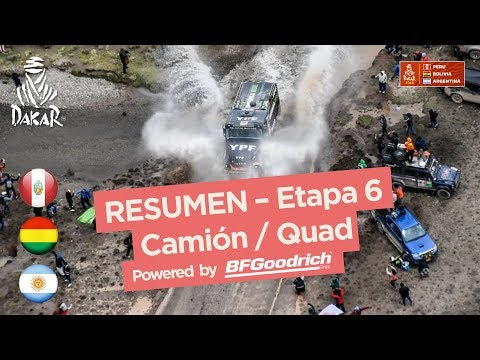 Xxx Mp4 Resumen Camiones Cuadriciclos SxS Etapa 6 Arequipa La Paz Dakar 2018 3gp Sex