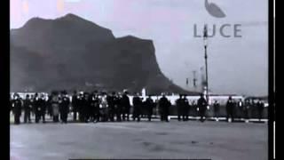 Una passeggiata al foro italico a Palermo negli anni 30