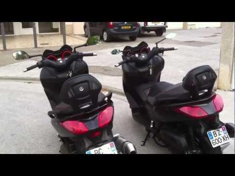 XMAX SPORT 2011 XMAX ABS 2011 COMPARAISON