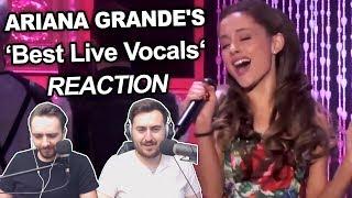 """Ariana Grande's Best Live Vocals"" Singers Reaction"