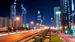 Walking in Streets of Dubai & Abu Dhabi UAE Tour Travel Video Guide